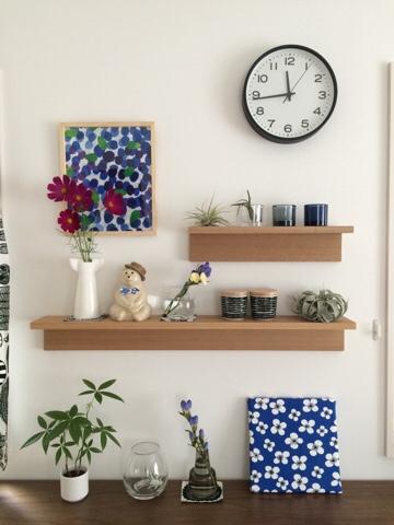 無印良品 muji 壁に付けられる家具・棚 飾り棚 北欧雑貨 北欧インテリア ディスプレイ リサラーソン イッタラ マリメッコ iittala marimekko