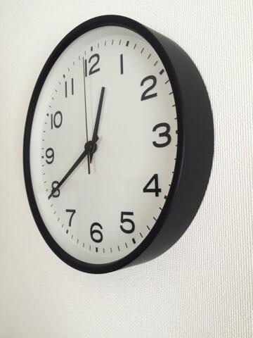 無印良品 無印 良品週間 MUJI リビング 掛け時計 位置 取り付け アナログ時計・大 ...