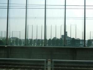埼京線の車窓から。
