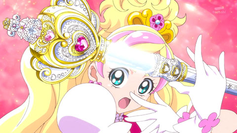 【Go!プリンセスプリキュア】第19回「はっけ~ん!寮でみつけたタカラモノ!」