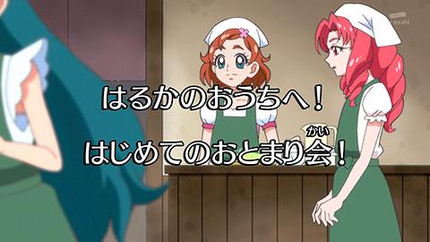 【Go!プリンセスプリキュア】第24回「笑顔がカタイ?ルームメイトはプリンセス!」