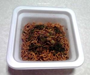 大黒屋 大阪の味 ウスターソース使用 甘辛ソース焼そば(できあがり)