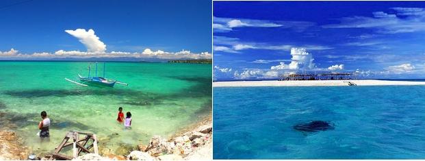 フィリピンの美しい海