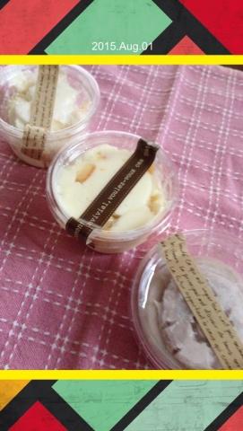 フルーツクリームバター3種