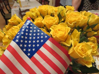 お隣さんとの独立記念日のお祝い-1, 2015-7-10