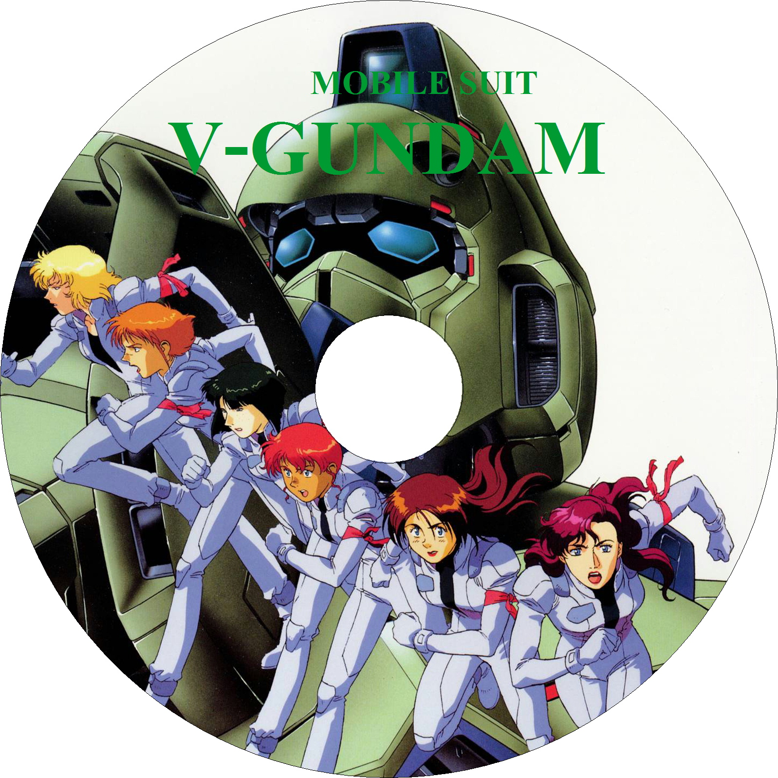 機動戦士Vガンダム ラベル(LD)3