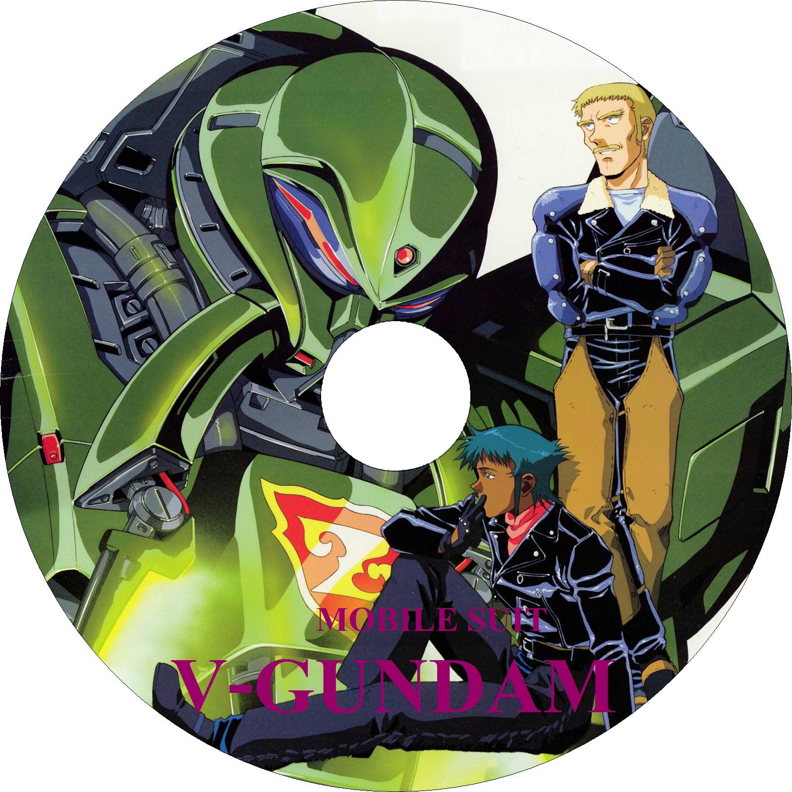 機動戦士Vガンダム ラベル(LD)10