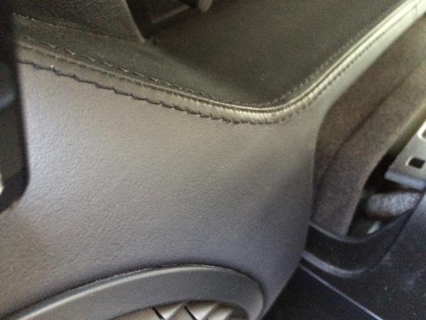 ダッシュボード レーダー取外し痕補修 BMW M6