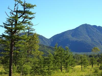 戦場ヶ原と三岳