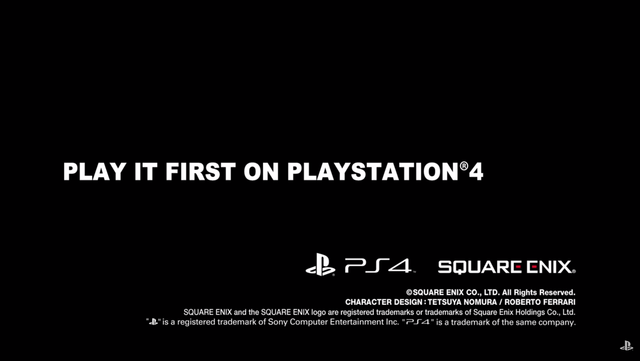 Play it first on PlayStation 4 FF7