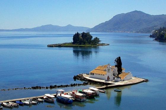 ギリシャ、ケルキラ島