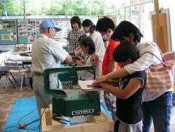 糸ノコ工作教室