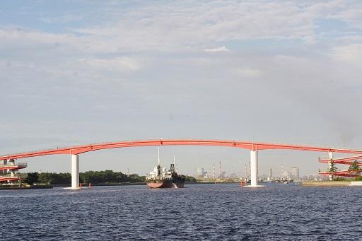7-20赤い橋とふね