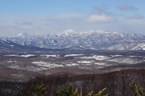 滝野公園方面の眺望