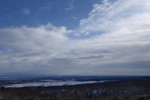 勇払原野方面の眺望