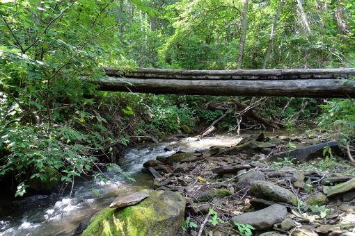 山部川に掛る橋