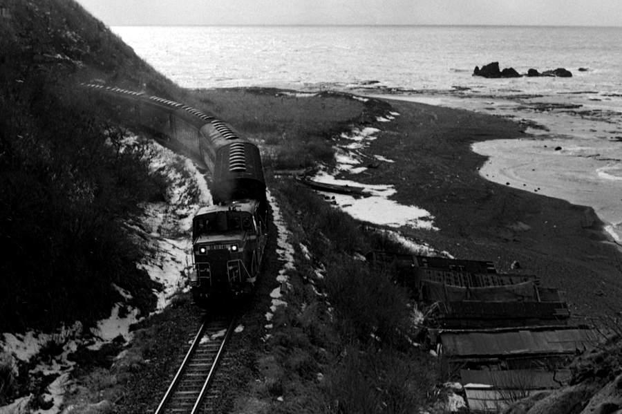 五能線 驫木トンネル俯瞰1 1982年11月 16bitAdobeRGB 原版 take1b