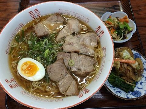 チャシュー麺醤油