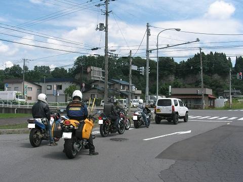 16道の駅碇ヶ関バイク