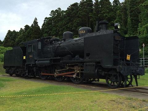 59椿山機関車