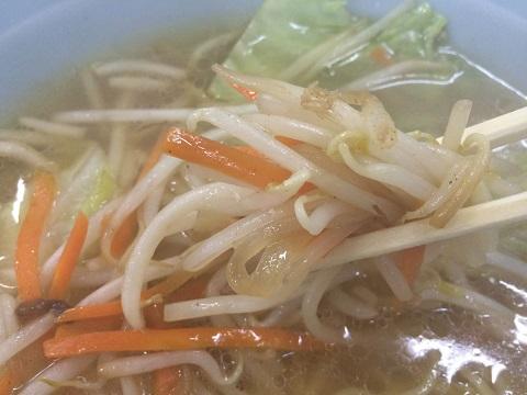 野菜ラーメンモヤシ