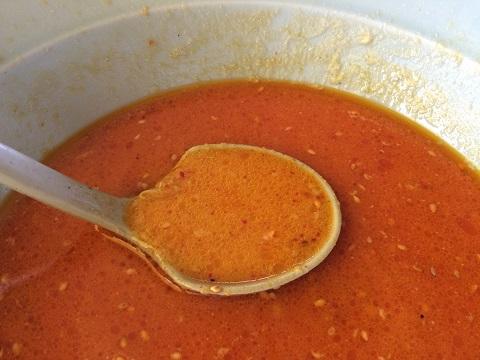 坦々麺スープ