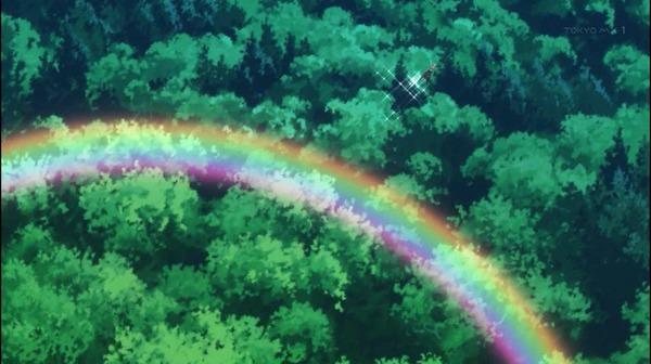5 アンナ 滴を散らして降下 虹