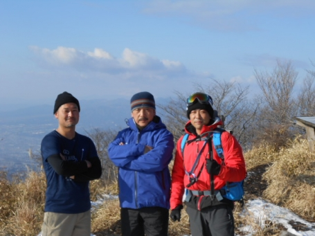 2014.12.31 鍋割山頂上