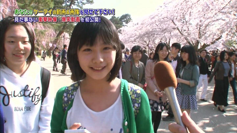 素人女子中学生 能年玲奈似の女子中学生がテレビに出演しかわいいと話題に。(日曜ビッグバラエティ 画像あり)