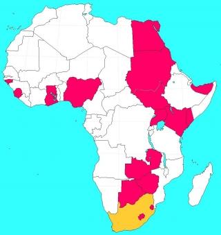 イギリスのアフリカ植民地