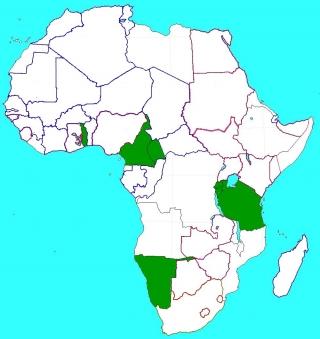 ドイツのアフリカ植民地