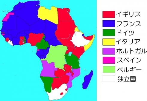 1914年のアフリカ