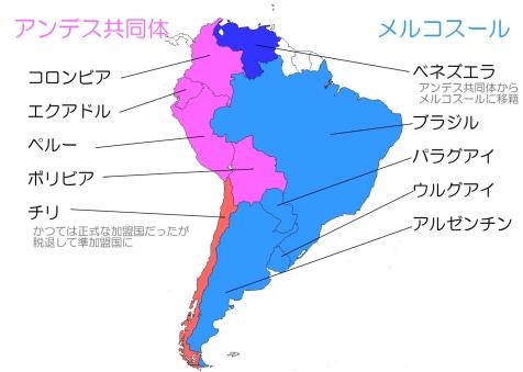 南米の経済組織