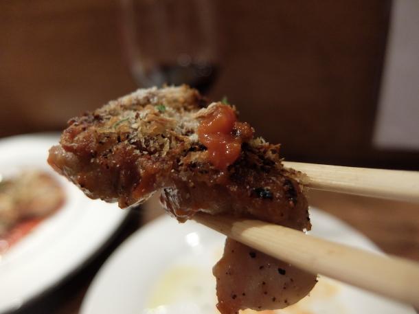 鶏もも肉の粒マスタードパン粉焼き