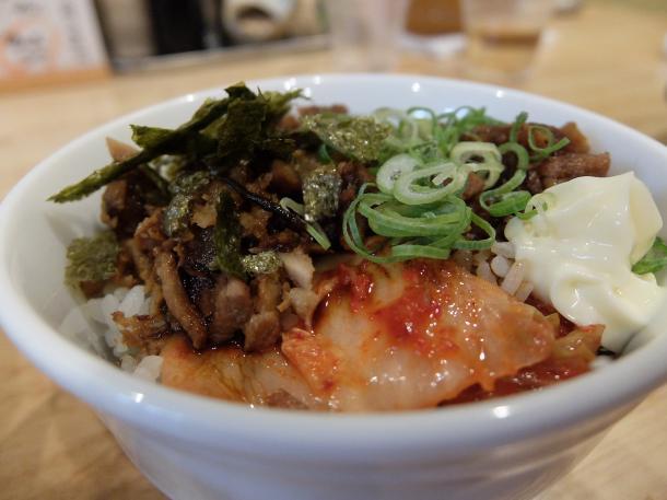 肉キムチ飯
