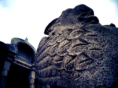 築地本願寺-獅子