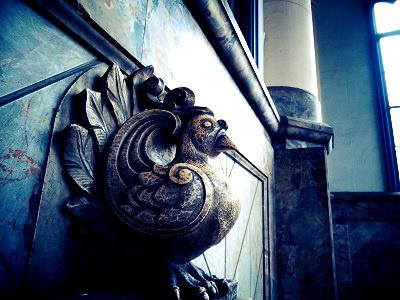 築地本願寺-鳥
