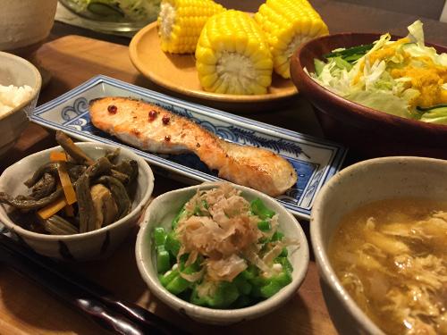Jly08_焼き鮭