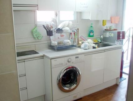 ヒュー共同キッチン ドラム洗濯機