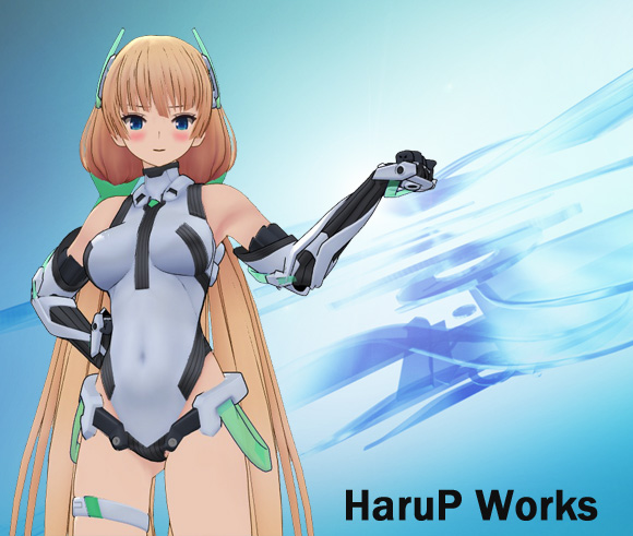 アンジェラMMD by HaruP