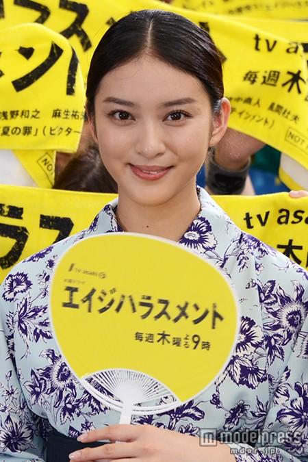 武井咲 ジェットスキーの免許取得を浴衣姿で報告