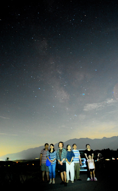 夏の星空ハイキング1