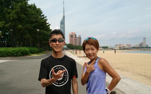 14JUN15 nike runclub with MIDORIさん