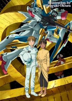 「機動戦士Vガンダム」Blu-ray Box宣伝キービジュアル