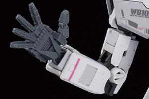 ビルダーズパーツHD MSハンド01(連邦系)ダークグレーt1
