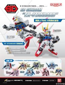 SD GUNDAM EX-STANDARD ラインナップ