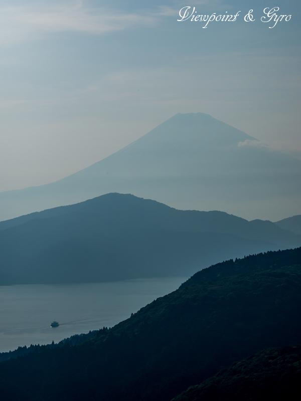 箱根大観峰からの夕景 A