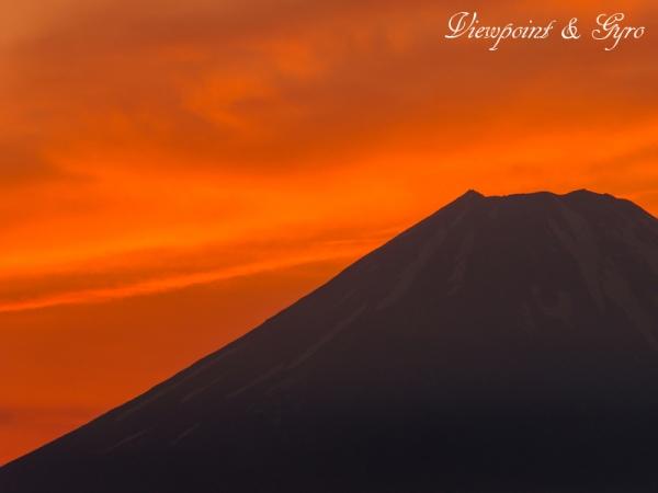 箱根大観峰からの夕景 G
