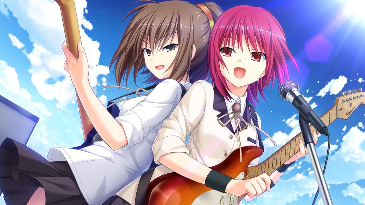 Angel Beats!CG(ひさ子&岩沢)