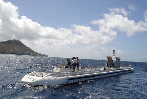 潜水 遊覧船